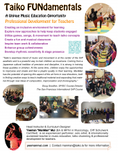Taiko FUNdamentals Flyer